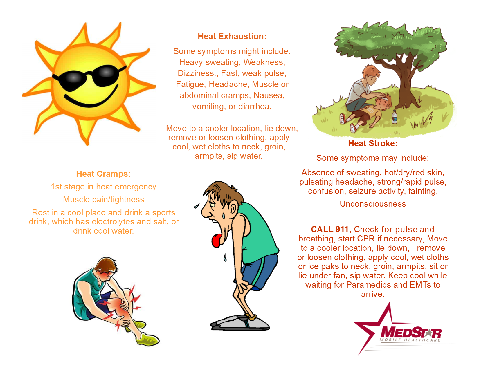 Media Outlets and MedStar Partner on Tips to Beat the Heat
