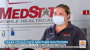 NBC Today Show Profiles Impact of Pandemic on MedStar Personnel