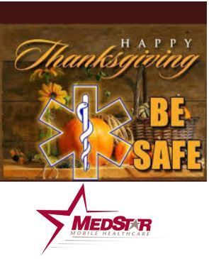 MedStar Offers Safety Tips for a Safe Thanksgiving Holiday