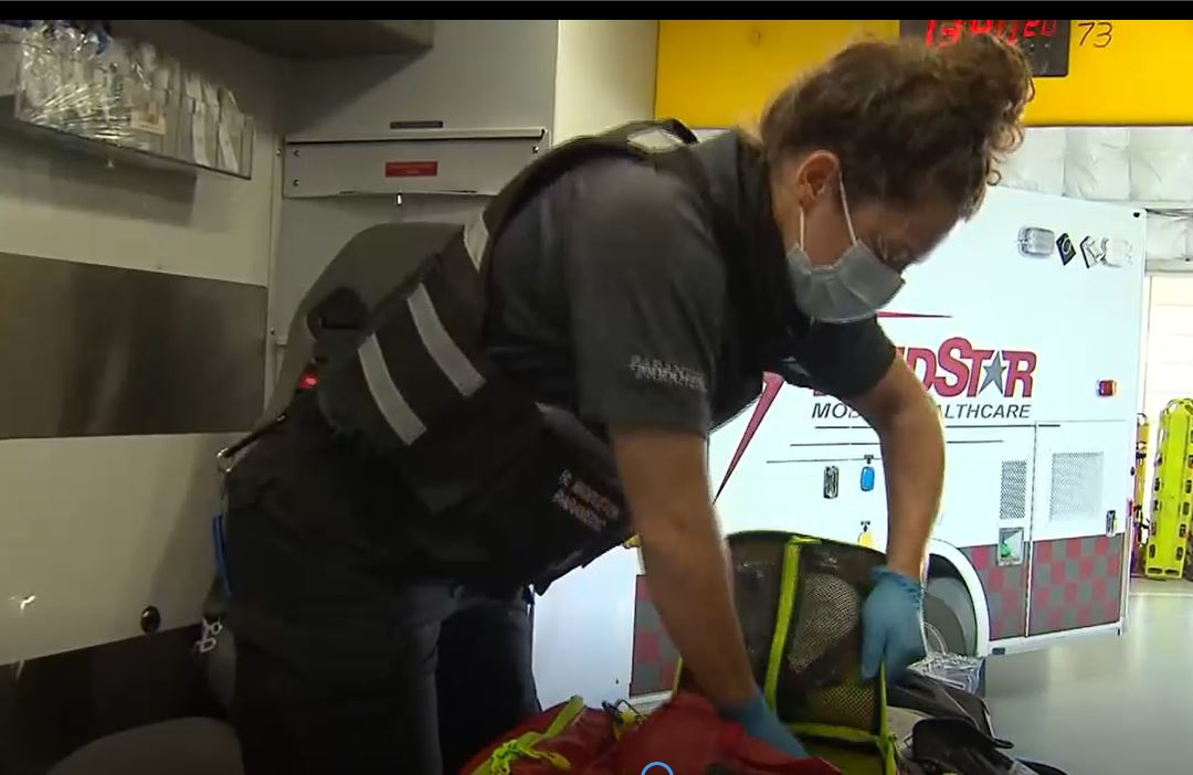 MedStar Crews Managing the Surge in Call Volume for Potential COVID+ Patients